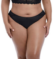 Elomi Charley Brazilian Brief In Black EL4385 L-3XL