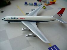 BRITISH AIRWAYS-(Uk)-Boeing-707-300-CARGO-1/500-Big Bird-Limited Edition-G-ASZF