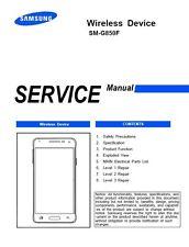 Samsung Galaxy Alpha SM-G850 Smartphone Service Manual Repair Guide