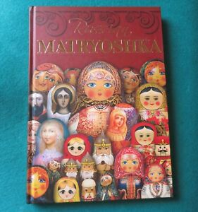 Russian MATRYOSHKA hard cover BOOK ENGLISH UNIQUE Collectors GIFT Babushka DOLL
