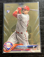 Dylan Cozens RC 2018 Topps US175 Gold 1242/2018 Philadelphia Phillies