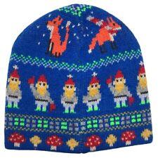 J. Crew Crewcuts NWT Kids' Gnome Fairisle Wool Blend Winter Beanie Size S/M