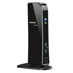 Toshiba DynaDock U.30 Universal USB 3.0 Docking Station Model# PA3927A-1PRP