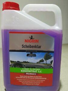 Nigrin Scheibenklar 3 l, Konzentrat Scheibenreiniger Autopflege 73135