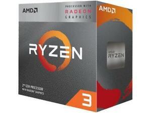 AMD Ryzen 3 3200G 3.6GHz 4-Core 4-Threads CPU Processor 65W
