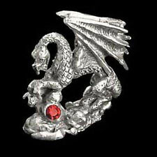 Dragon's Jewel Miniature Pewter Figurine