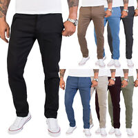 Rock Creek Herren Chino Hose Slim Fit Designer Business Hosen RC-2154 W29-W40