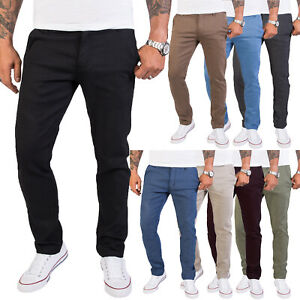Rock Creek Herren Chino Hose Slim Fit Designer Business Hosen RC-2154 W29-W40
