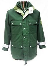 "New German Gortex Military Police Coat Parka With Hood Med Short 35""-39"" Chest"