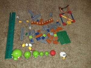 Knex Angry Birds Mission Mayham  w/ 2 extra pigs No Box No Instructions