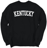 Kentucky Athletic Student Gym Vacation KY  Crewneck Sweat Shirts Sweatshirts
