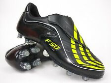 Adidas Mens Rare F50.9 TUNIT Black Yellow Soccer Cleats Shoes Size 7.5