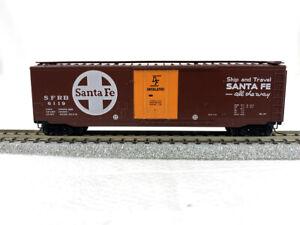 Kadee MTL #32050 - ATSF Santa Fe Rd# 6119 - 50' Steel Plug Door Boxcar