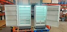 "Sub-Zero 72"" Stainless Refurbished Set 36"" All Refrigerator 501R & All Frz 501F"