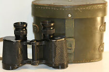 90's FRENCH  armee    8 X 30  binoculars   zeiss... well marked military reticle