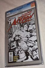 Action Comics #1 1:200 Sketch Variant CGC 9.8 Only one listed Very Rare