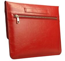 Macbook 11 12 Inch Air Pro Laptop Genuine Real Leather Sleeve Case Cover Bag