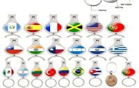 Multi-functional Keychain,Nail Clipper, Bottle Opener Fashion Country Flag  4in1