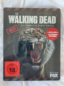 The Walking Dead - 8.Staffel (Steelbook:Limited Edition) I Blu-ray I Neu-OVP