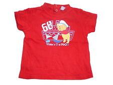 Disney tolles T-Shirt Gr. 74 rot mit Winnie Pooh Motiv !!