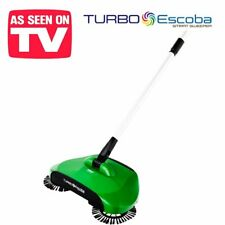 Turbo Scopa ruotante senza fili Sweeper raccoglibriciole peli e sporco rotante