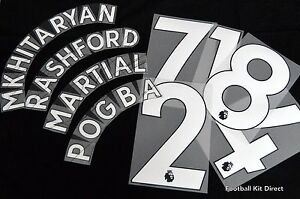 Official Manchester United 17/18/19 Football Name/Number Set Player size issue