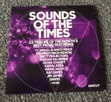 SOUNDS OF THE TIMES CD BY UNCUT TY SEGALL WHITE FENCE DIRTY PROJECTORS