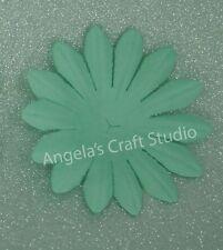 "10 x 5cm ""BABY BLUE"" Paper Flower Petals by Green Tara - Scrapbook Cards Craft"
