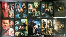 24 Series 1 2 3 4 5 6 7 & 8 DVD Boxsets Choose From List
