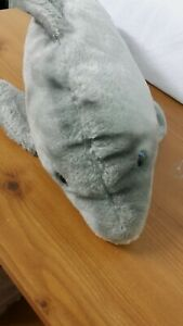Sea World Australia Soft toy Dolphin. No Tag Only Label. 16 Ins / 41cms Long.