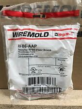 Wiremold  RFB6-AAP  Audio/Video Plate ** New In Box, Free Shipping **