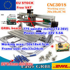 【EU】USB 3018 DIY Mini Laser Machine CNC Engrave Milling+ER11 Collet+Controller