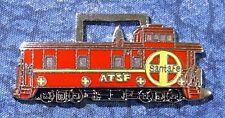 Santa Fe Railroad Train Caboose Watch Fob