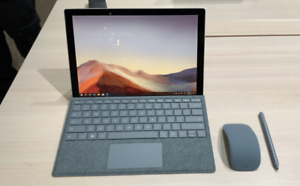 Microsoft Surface Pro 7 i5 16GB 256GB w/ Ice Blue Type Cover & Arc Mouse & Pen