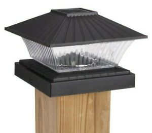 Sterno Home Solar Powered LED Post Lights 4 Colors