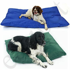 Waterproof Dog Bed Heavy Duty Cover Hardwearing Puppy Pet Cushion Mattress Tough X Large Blue