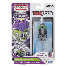 Transformers Angry Birds Telepods APP Game iOs Android Dark Megatron Pig
