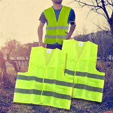 Streifen Warnweste Warnschutzweste Weste Profi Kleidung 58*68cm  1Stk