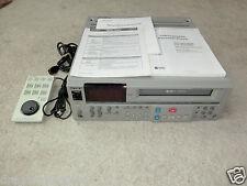 Sony svo-5800p high-end professionale S-VHS Video Recorder, incl. fb&bda, 2j. GARANZIA
