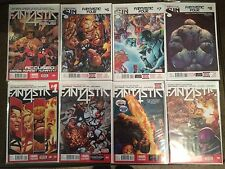 Fantastic Four 1, 2, 3, 4, 5, 6, 7, 8 2014  End Of Fantastic Four NM+ Lot 8