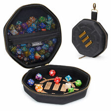 ENHANCE Tabletop Gaming Dice Case and Rolling Tray - Storage for up to 150 Dice