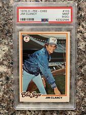 1978 O-PEE-CHEE #103 JIM CLANCY *PSA GRADED MINT 9(OC) *SHARP * KGC-13442
