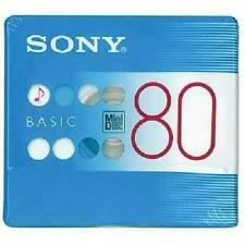 Sony MDW80BC Blank Mini Disc 80 Minutes Recordable Sealed