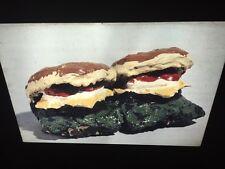 "Claes Oldenburg ""2 Cheeseburgers With Everything 1962"" Pop Art 35mm Art Slide"