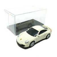 "Porsche 911 Turbo Cream Diecast Car Scale 1/64 (2.5"") RMZ City Free Display Box"