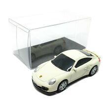 "Porsche 911 Turbo Cream Diecast Car Scale 1/64 (2.5"") RMZ City Free Display Box"