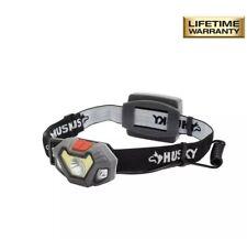 Husky 4AAA 300-Lumen LED Dual Beam Unbreakable Headlight.......LIFETIME WARRANTY