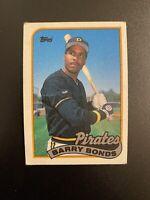 1989 Topps Barry Bonds Pittsburgh Pirates #620 Baseball Card