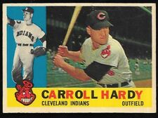 1960 Topps Carroll Hardy Cleveland Indians #341 EX