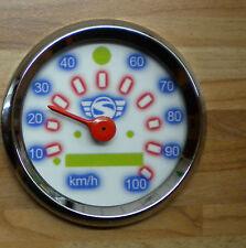 Tachoscheibe Simson weiss mit logo s51 s70 s83 s53 tuning